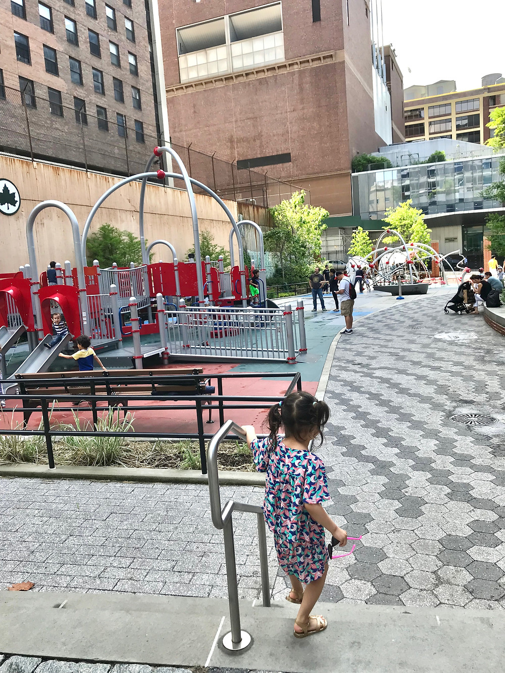Gertrude Ederle Playground, Curious G and Me, Best NYC Playgrounds