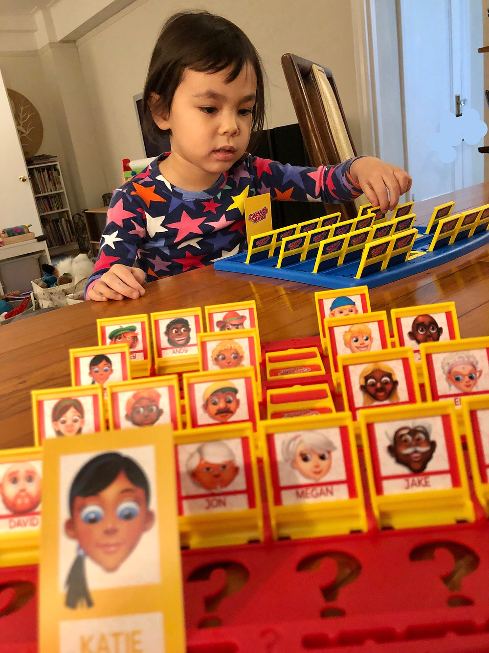 best floor puzzles for toddlers, Curious G and Me, Best board games for toddlers, Guess Who board game, Hasbro games for toddlers