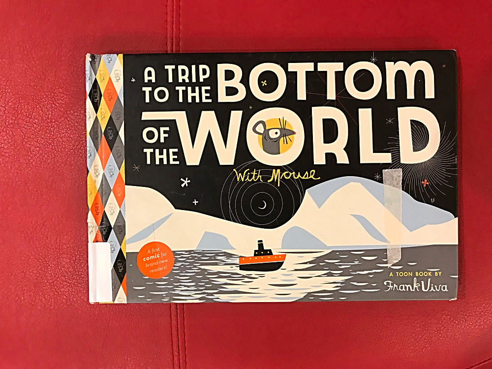 NYPL, 53rd street library, books for kids, nyc kids, Frank Viva, A Trip to the Bottom of the World with Mouse