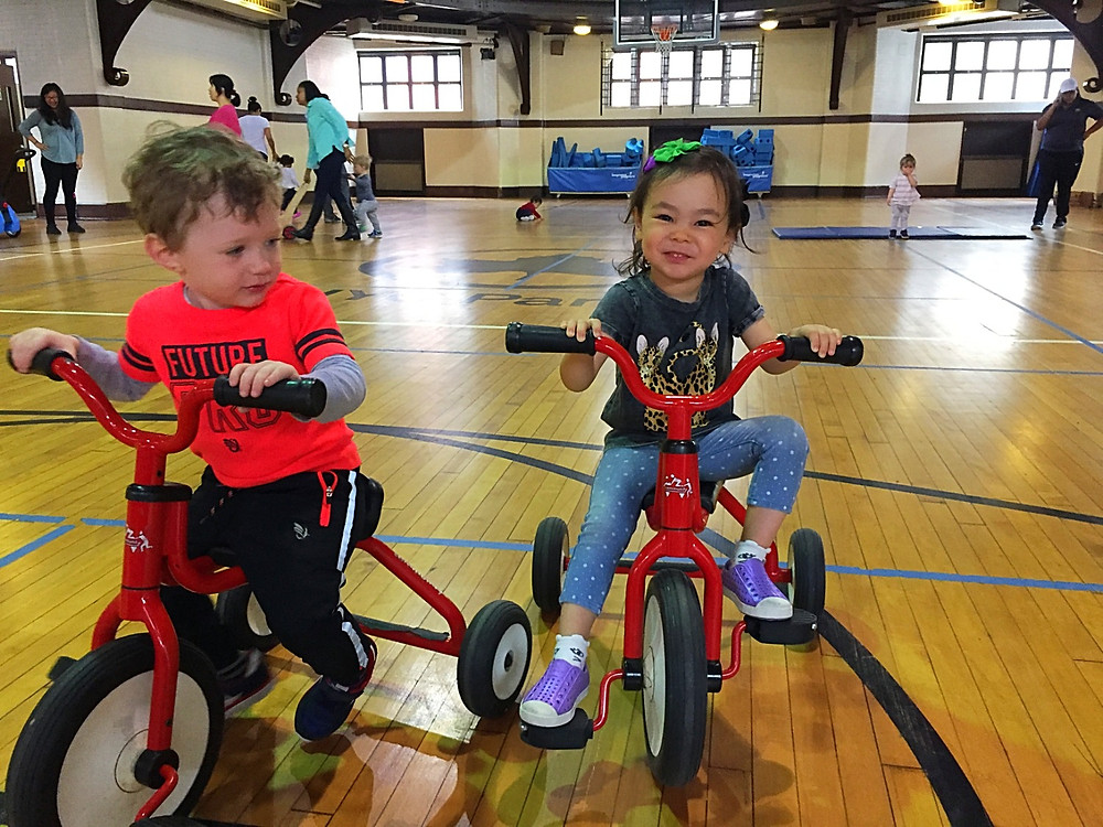 Recreation Center 54, amazing indoor play space for kids in NYC, Curious G and Me, gymnasiums for kids in NYC, winter indoor entertainment guide NYC, NYC with kids