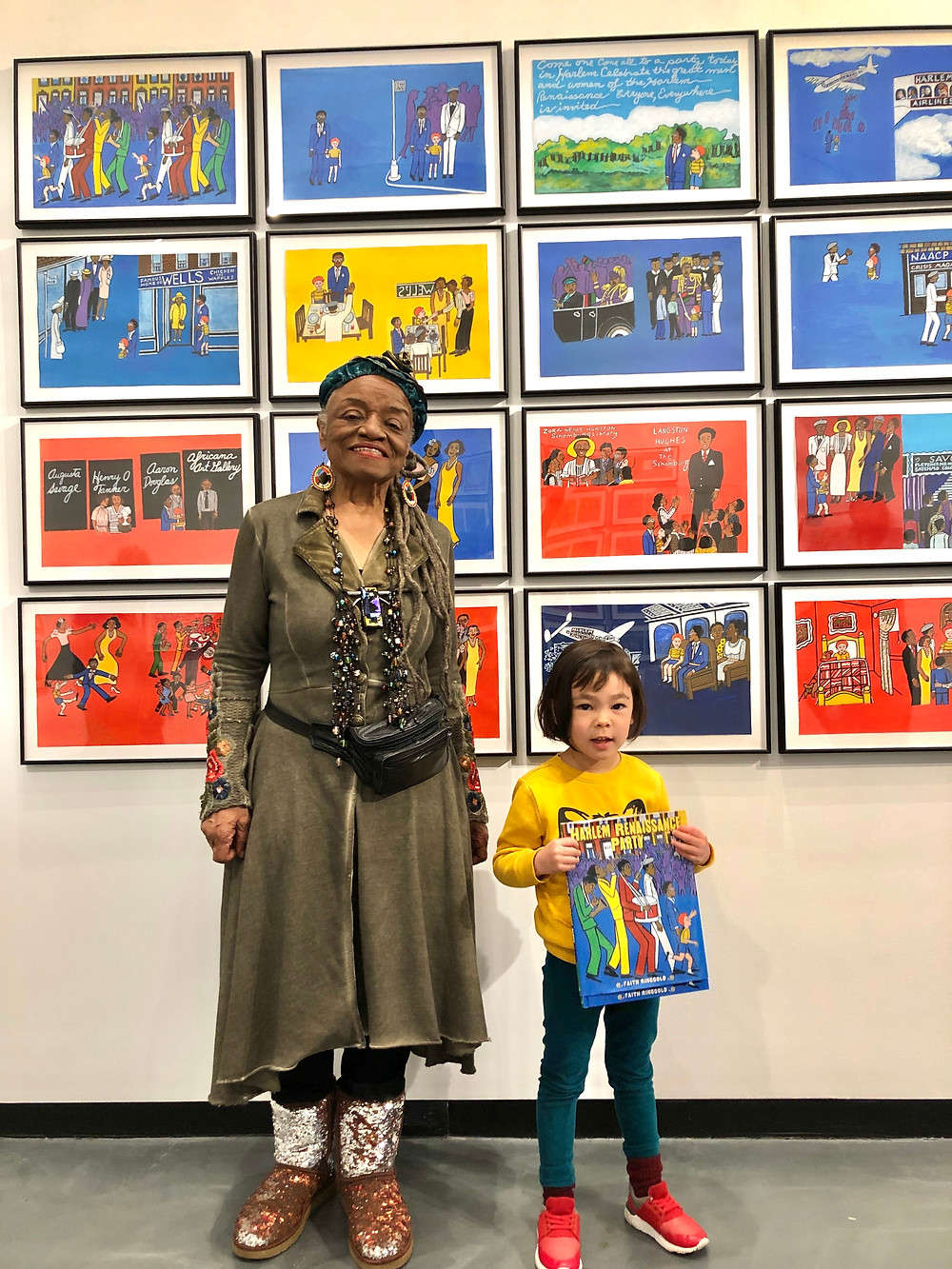 Curious G and Me, Faith Ringgold, Tar Beach, Children's Book Authors, Sugar Hill Children's Museum of Art and Storytelling, FREE museums in New York City NYC