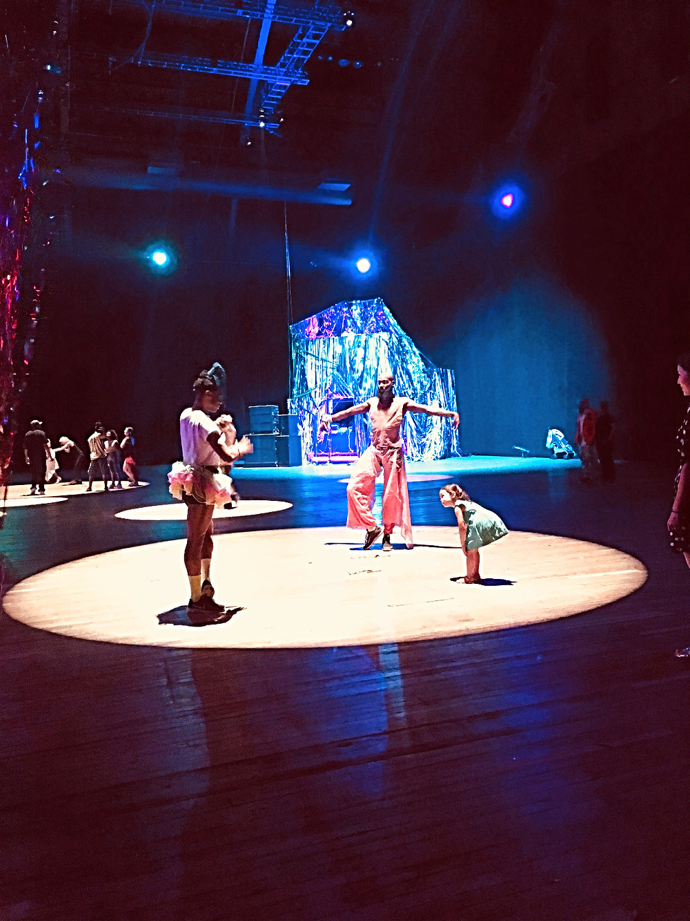 Nick Cave, The Let Go, cultured kids, Park Avenue Armory, Sabine Blaizin, Curious G and Me