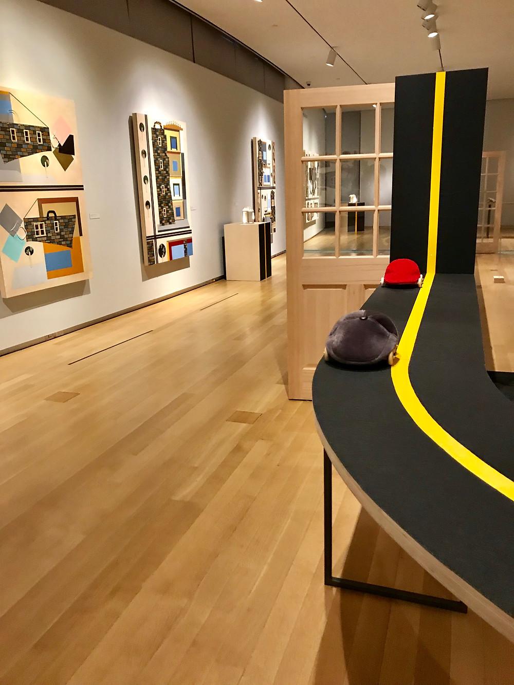 Museum of Art and Design, Samantha Littman, Tanya Aguiniga, Derrick Adams, Interlace, Craft and Care, Surface Depth