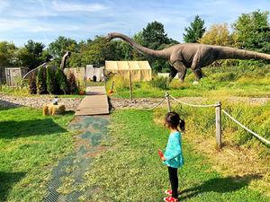 Car Trip: Field Station: Dinosaurs in Leonia, NJ