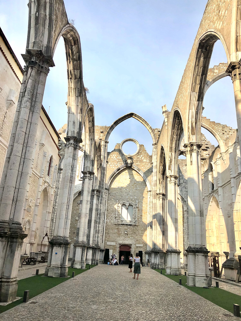 Carmo Do Convento, Curious G and Me, Portugal with kids, 4 day Lisbon itinerary, Summer travel with kids, Family travel guide, Sintra with kids, colorful Portugal, colorful Lisbon, photogenic Lisbon, photogenic Portugal, Lisbon with kids, day trip to Sintra, Pena Palace