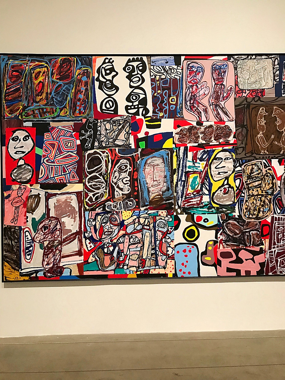 chelsea galleries, cultured kids, art gallery, nyc gallery, nyc kids, nyc summer, damien hirst, color space painting, pace gallrey, jean dubuffet