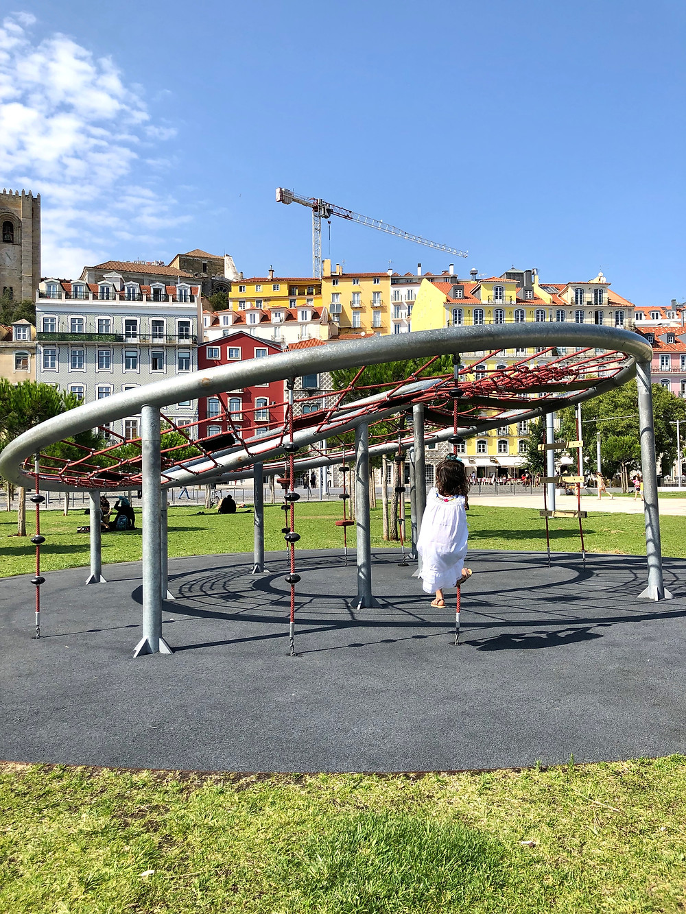 Curious G and Me, Portugal with kids, 4 day Lisbon itinerary, Summer travel with kids, Family travel guide, Sintra with kids, colorful Portugal, colorful Lisbon, photogenic Lisbon, photogenic Portugal, Lisbon with kids, day trip to Sintra, playgrounds in Lisbon, Alfama, Alfama parks