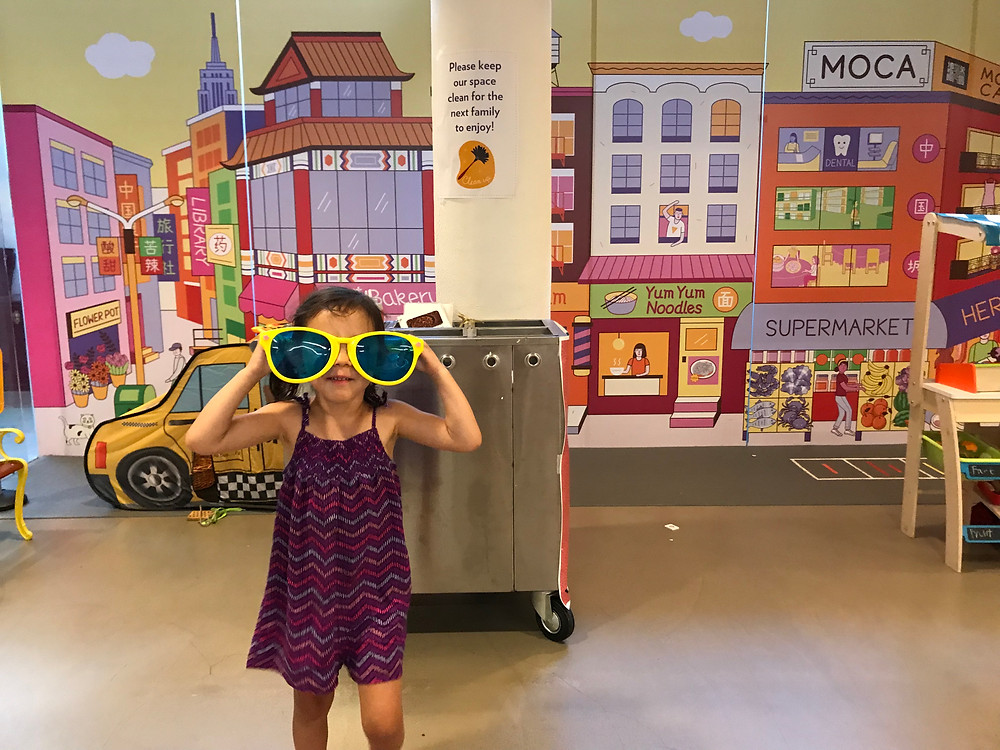 Museum of Chinese in America, Chiantown NYC, museums with kids, children's museums, things to do in nyc with kids, curious g and me, dragon dancer
