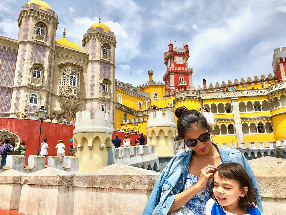 Curious G and Me, Portugal with kids, 4 day Lisbon itinerary, Summer travel with kids, Family travel guide, Sintra with kids, colorful Portugal, colorful Lisbon, photogenic Lisbon, photogenic Portugal, Lisbon with kids, day trip to Sintra, Pena Palace