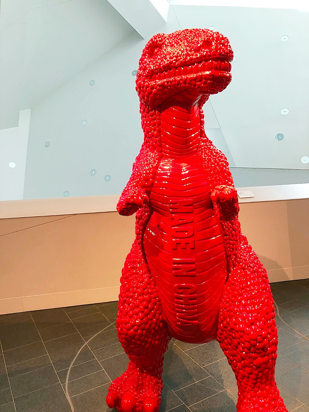 Denver with kids, Red Rocks Park, hiking with kids, family travel, Colorado with kids, FTW, kids in arcades, 16th Street Mall with kids, Denver with kids, Denver Art Museum, Claes Oldenburg, Denver Art Museum with kids, Can Can, Yayoi Kusama, Stampede: Animals in Art