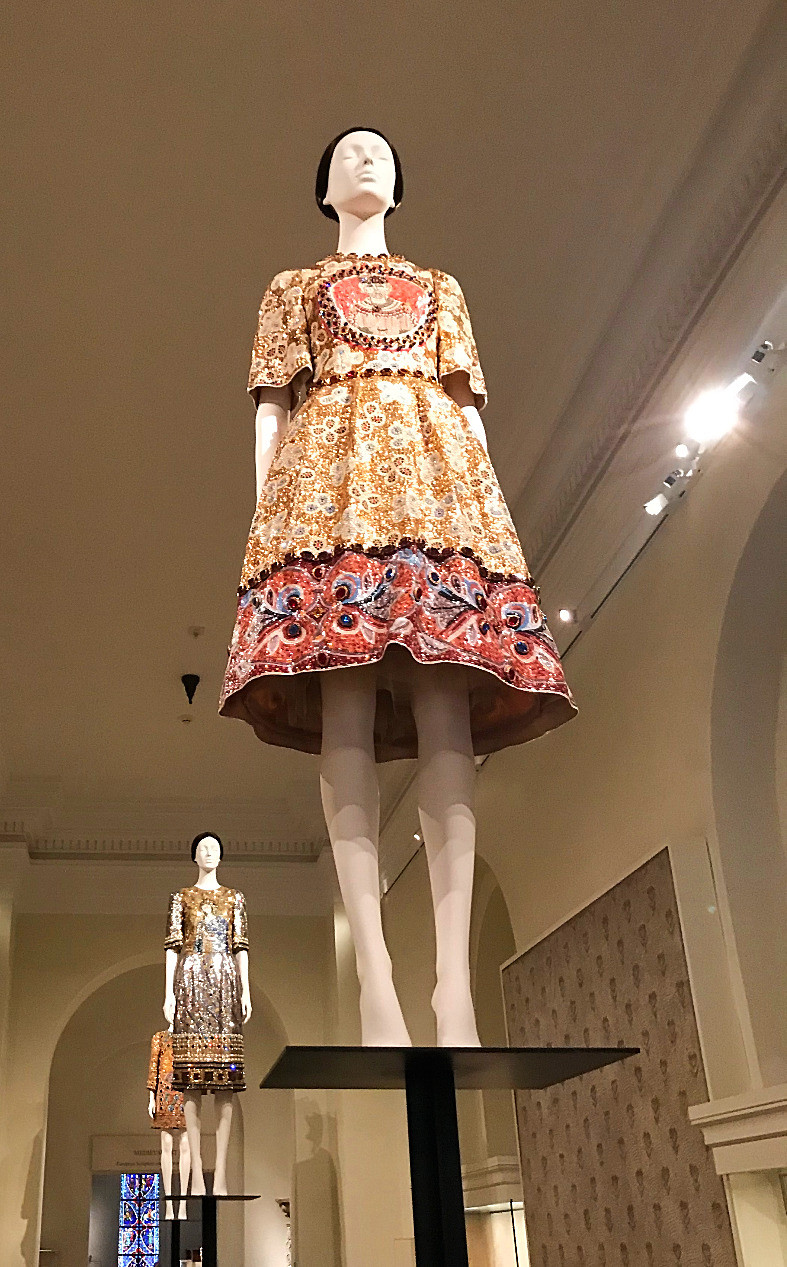 The Met, Heavenly Bodies, Rodarte, museums with kids, nyc summer, Curious G and Me, cultured kids, Dolce and Gabbana