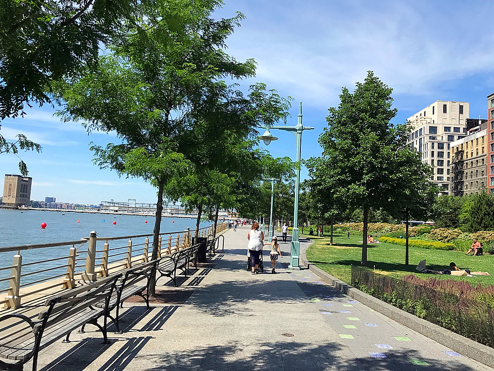 Hudson River Park, NYC summer, Curious G and Me, Pier 25, Grand Banks, Pier 45, Pier 46