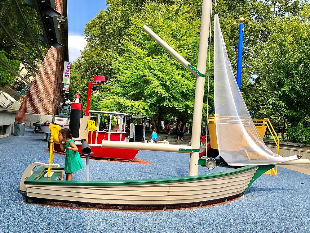 Staten Island children's museum, snug harbor