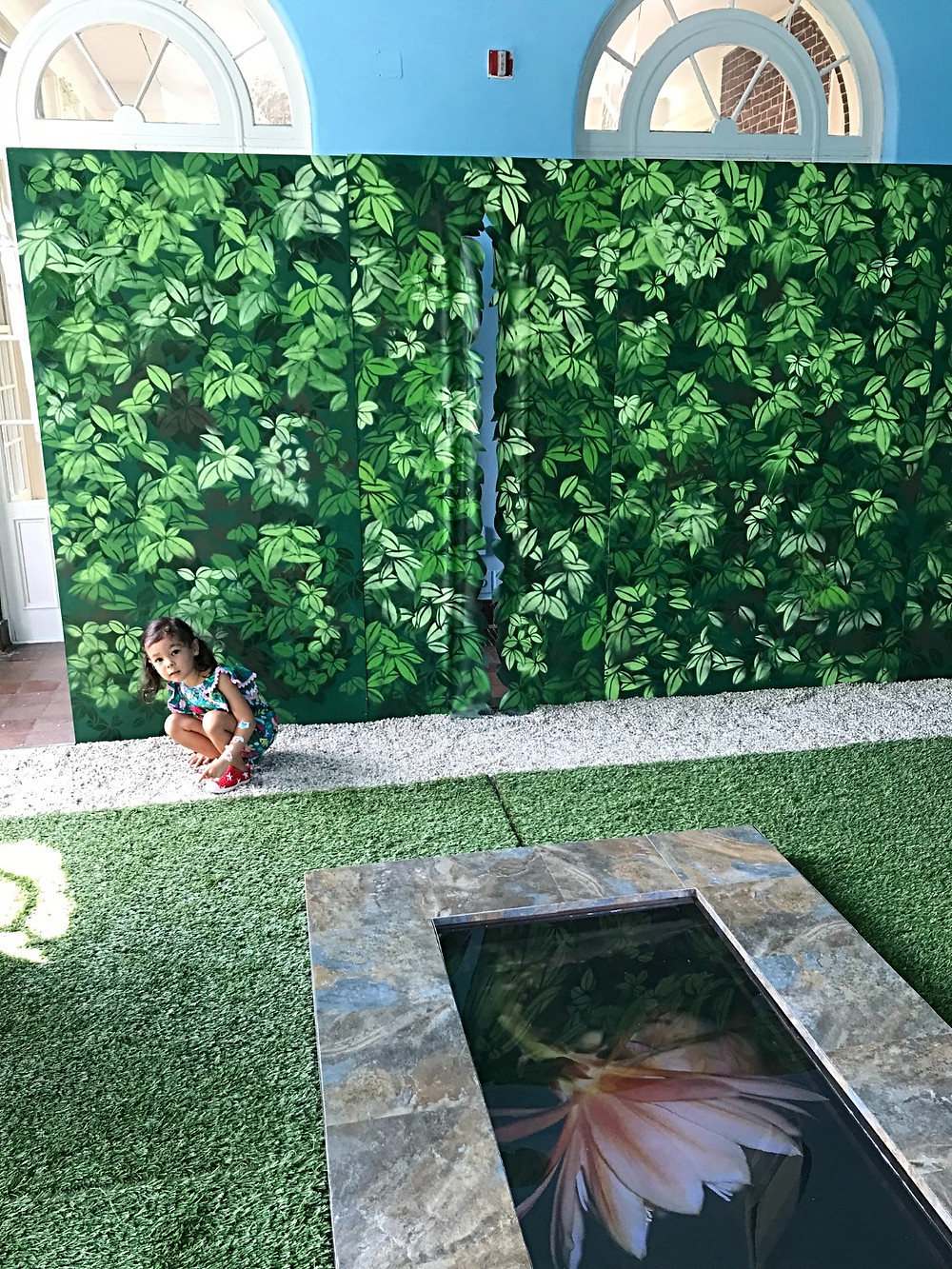 Wave Hill, NYC Botanical Garden, kids in nature, NYC hidden gem, Family Art Project, Curious G and Me, Glyndor Gallery, Sunroom Project Space, Paradise by Priyanka Dasgupta and Chad Marshall