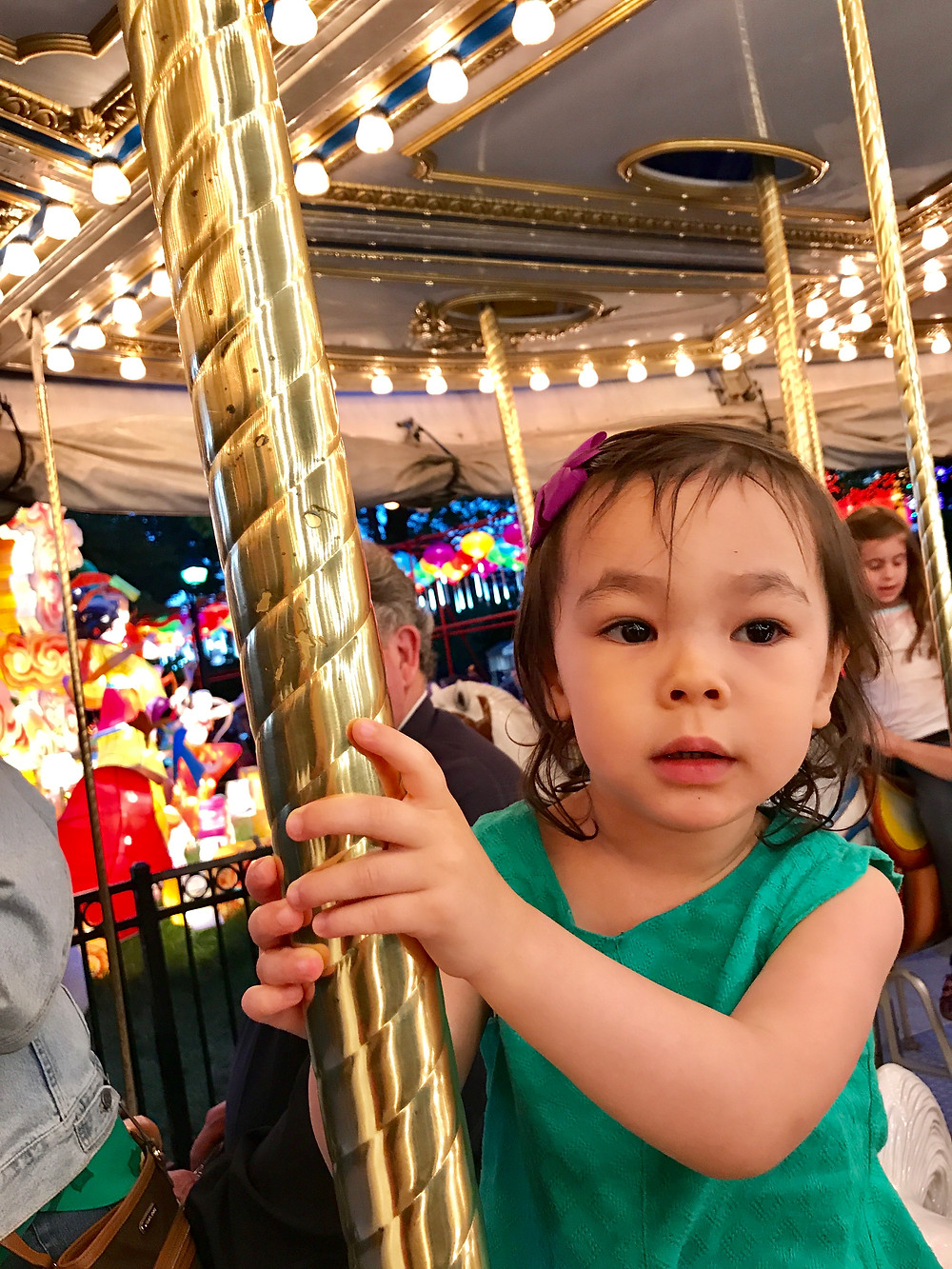 Spruce Street Harbor Park, Philadelphia, Franklin Square, Franklin Square Carousel, Curious G and Me