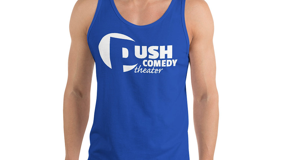 Push Comedy Theater Unisex Tank Top