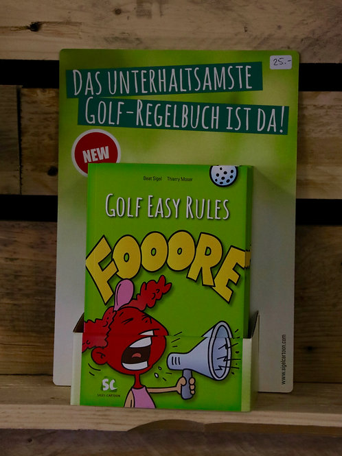 Golf Rules Booklet