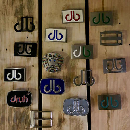 Druh Belts & Buckles