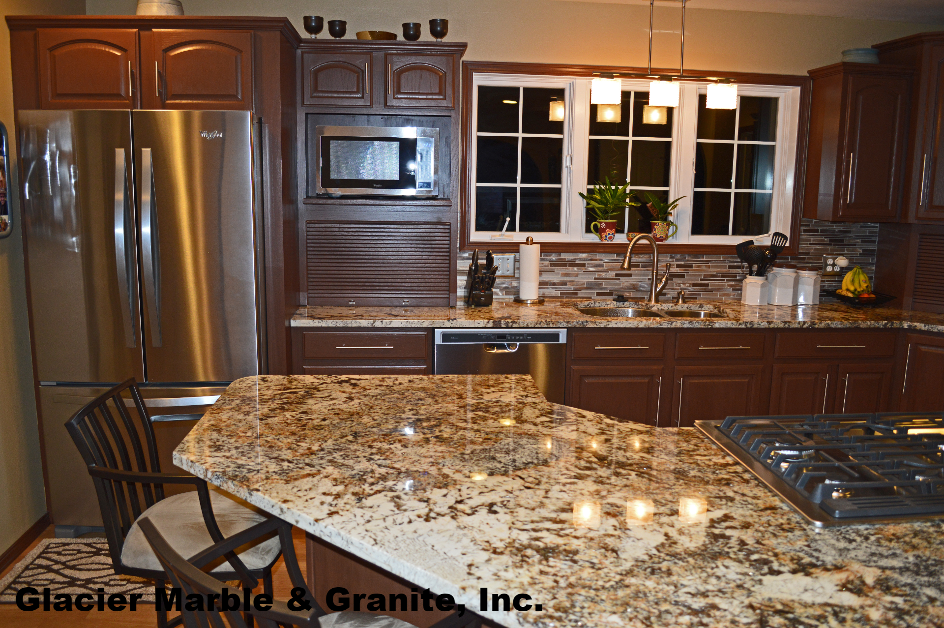 Tiger Polished Kitchen