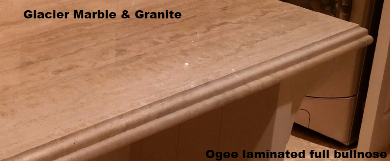 Ogee Laminated Full Bullnose Edge