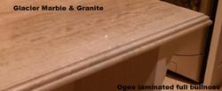 Ogee Laminated Full Bullnose Edge