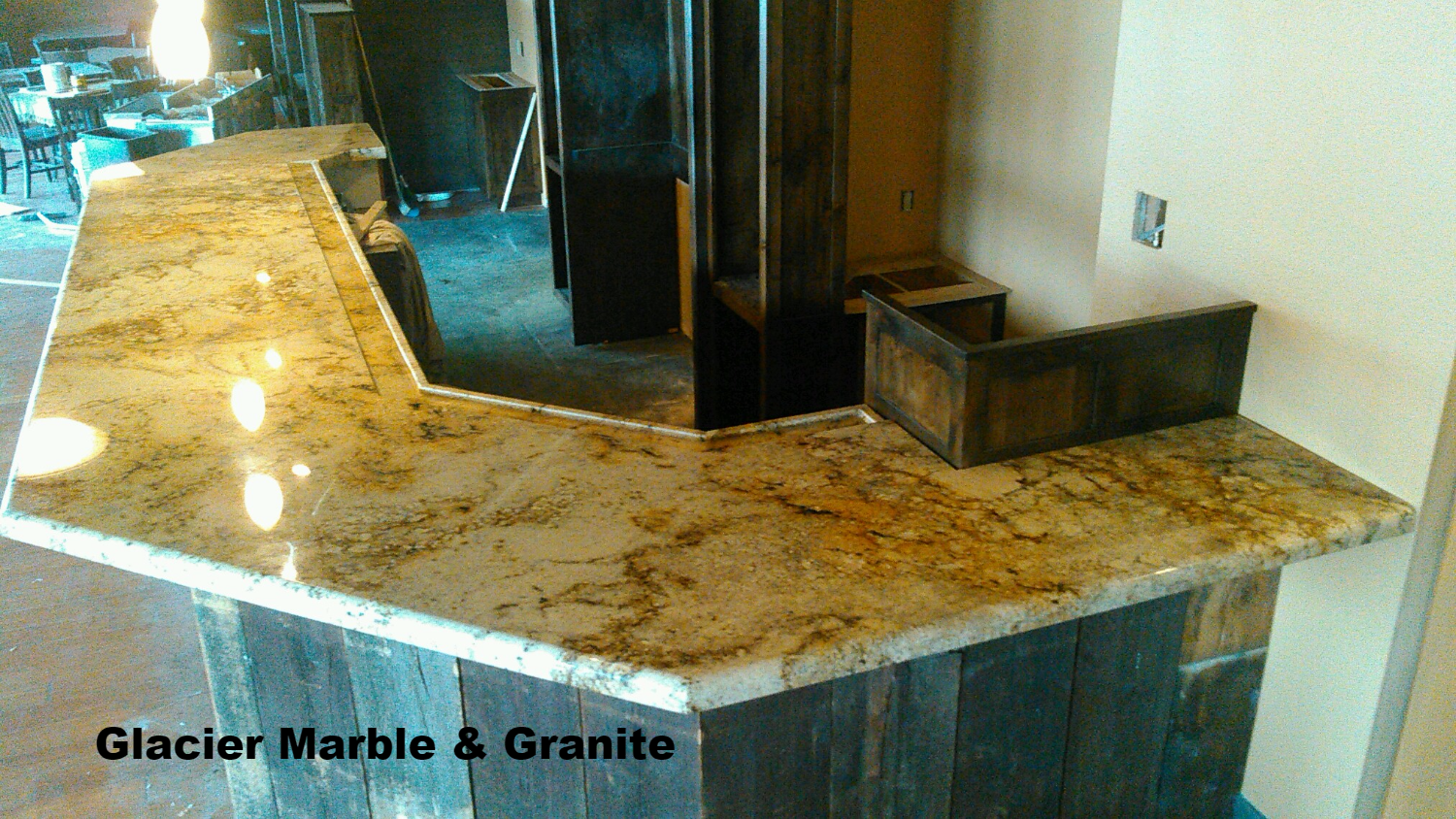 Sienna Beige Granite Bar Top