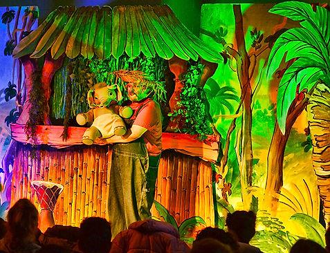 spectacle pour enfants sur la jungle