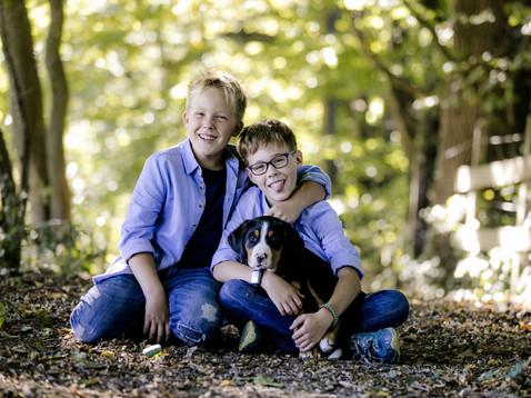 Portraitshooting mit Simon & David und ihren beiden Hündinnen Chelsea & Anuk