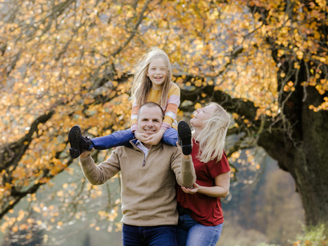 Herbstliches Familienshooting mit Andrea, Bernd & Helena
