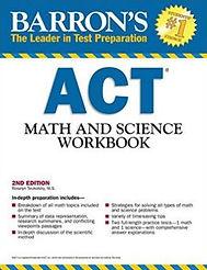 act exam math science book