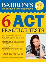 barrons 6 act practice tsts