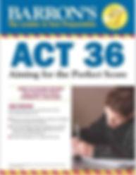 barrons ACT 36 textbook
