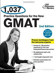 1037 GMAT Questions Textbook