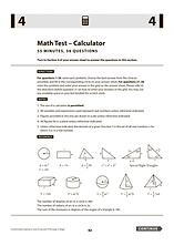 SAT Math Test - Calculator