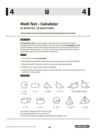 SAT Math Test Calculator