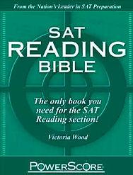 SAT Reading Bible Book
