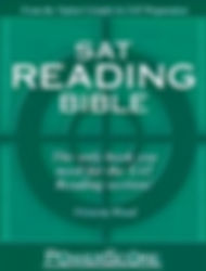 SAT Reading Bible Book