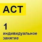 ACT индивидуаьное заняти