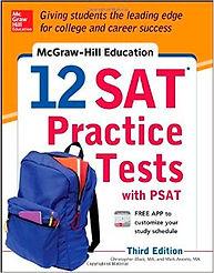 SAT Practice Tests Book