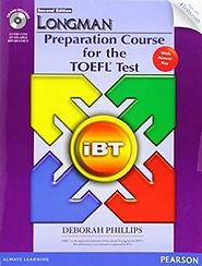 longmn toefl test online book