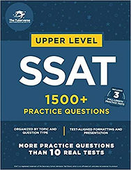 SSAT 1500 Practice Problems Upper Level.
