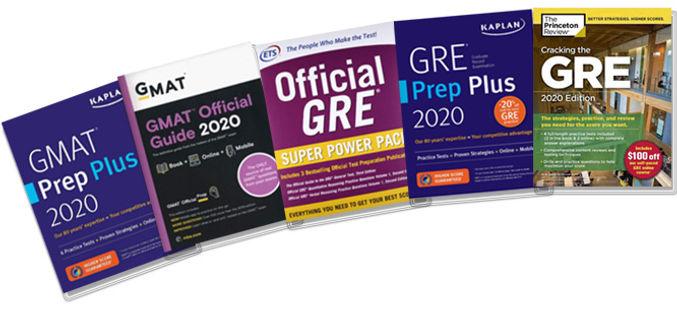 Учебнки GMAT GRE