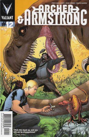 Archer & Armstrong #12 Couverture de Juan Doe