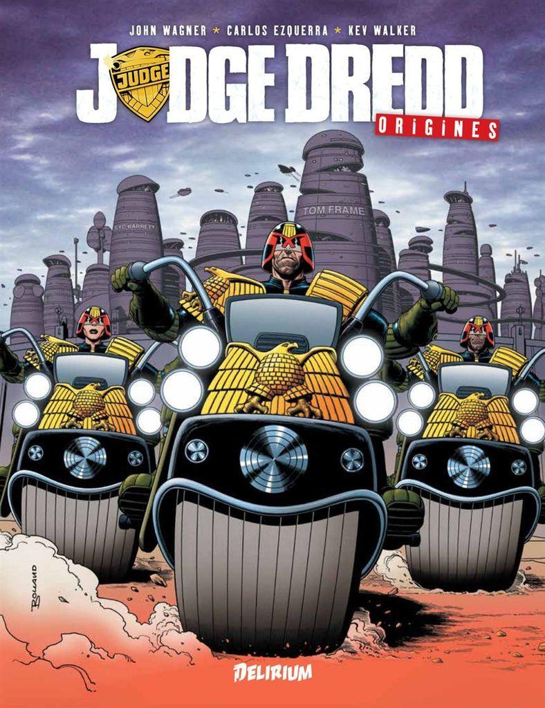 Judge Dredd origines