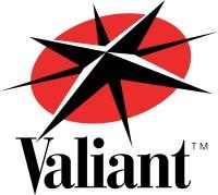 1° logo valiant entertainement