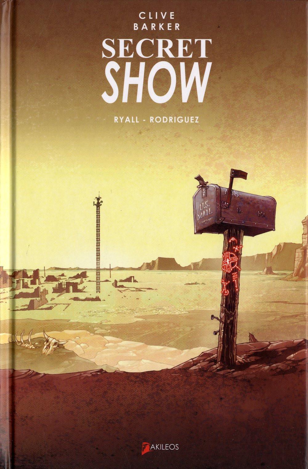 édition française couverture de Gabriel Rodriguez