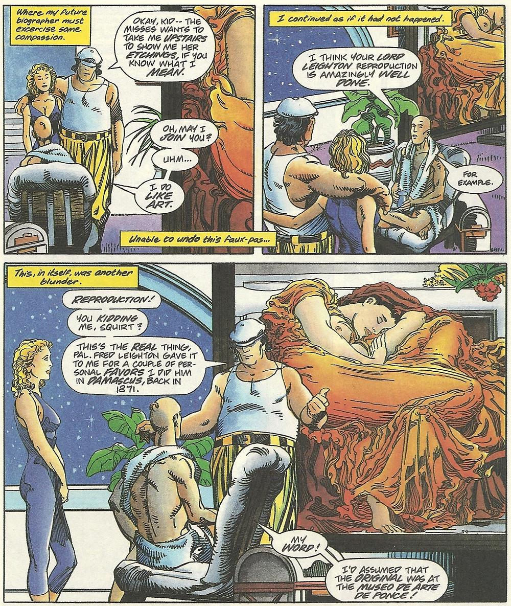 Page d'Archer et Armstrong par Barry Windsor-Smith
