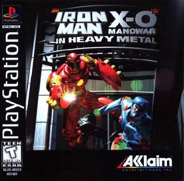 Jeu vidéo Iron Man X-O Manowar in heavy metal