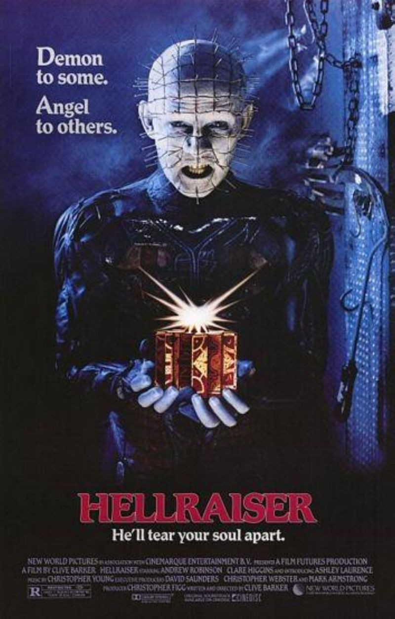 Affiche de Hellraiser