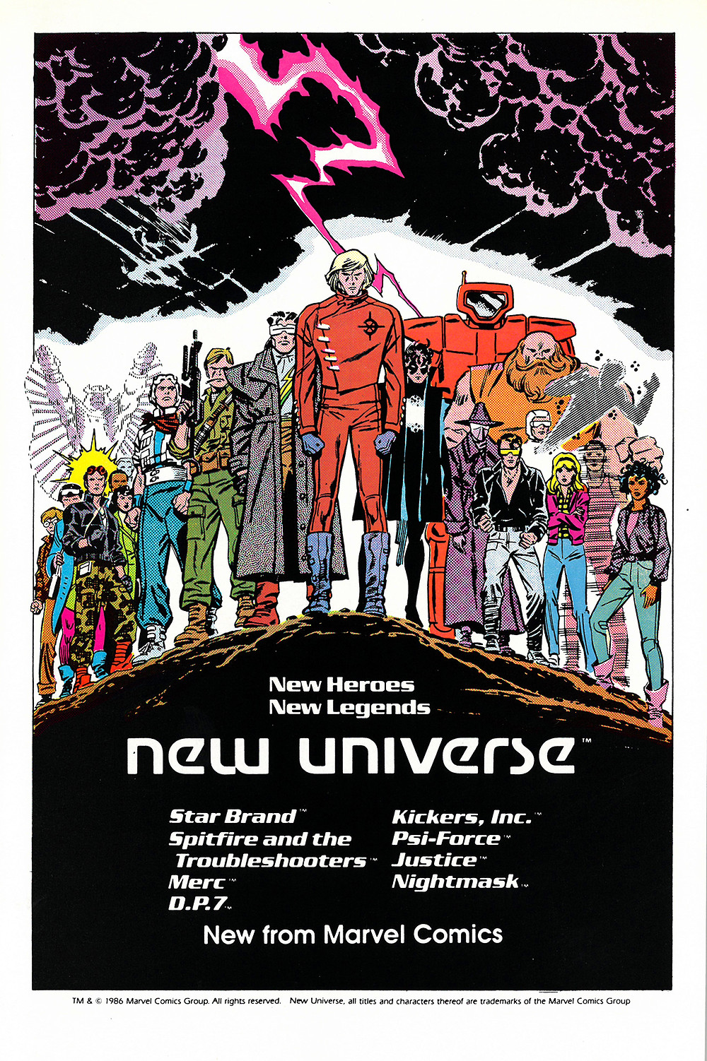 new universe par John Romita Jr.